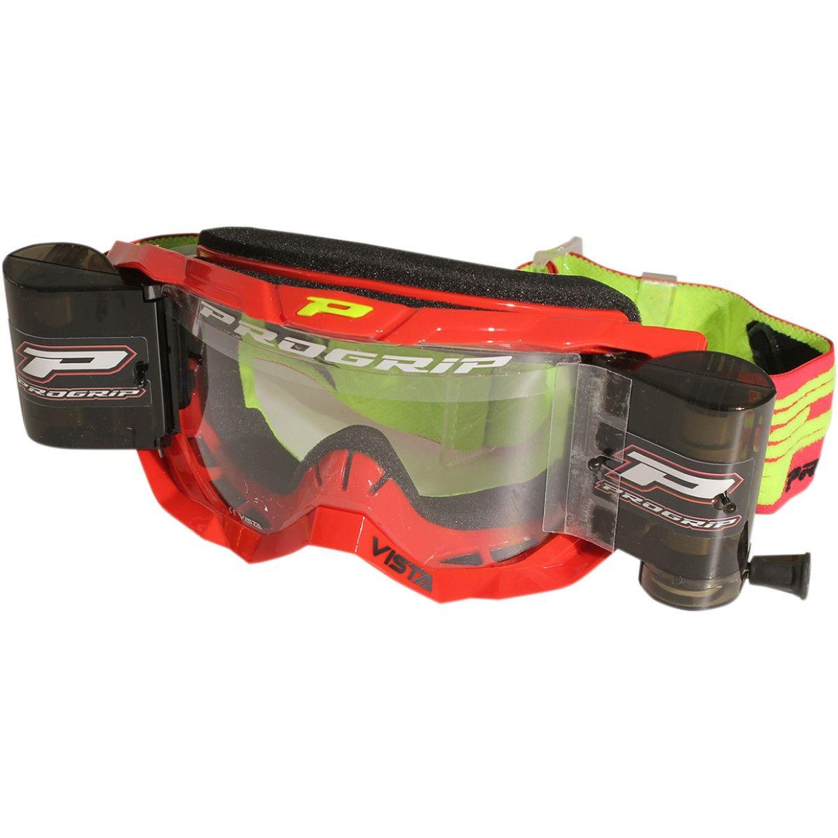 Progrip Vista roll-off XXXL crossbril rood