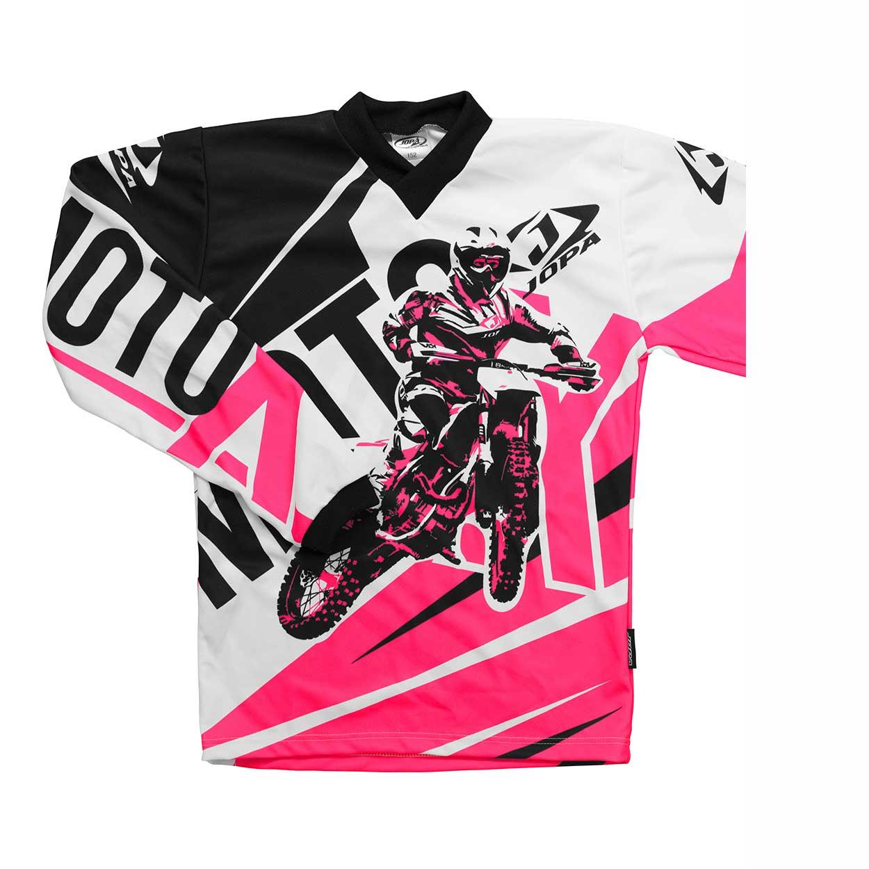 Jopa Kinder Shirt Moto-X Pink-86