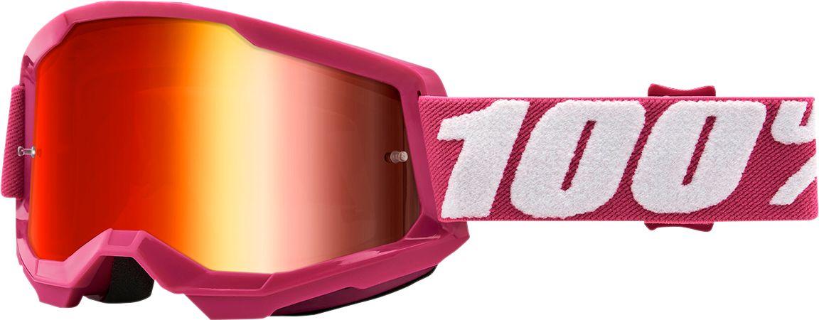 100% Crossbril Strata 2 Fletcher/Mirror Red