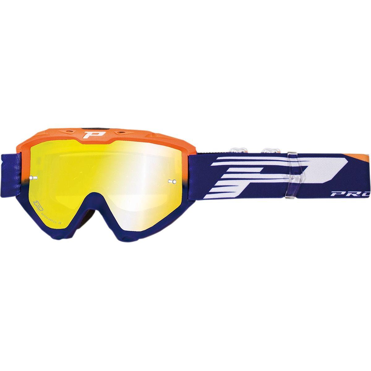 Progrip Crossbril 3450 Riot Mirror Orange/Blue