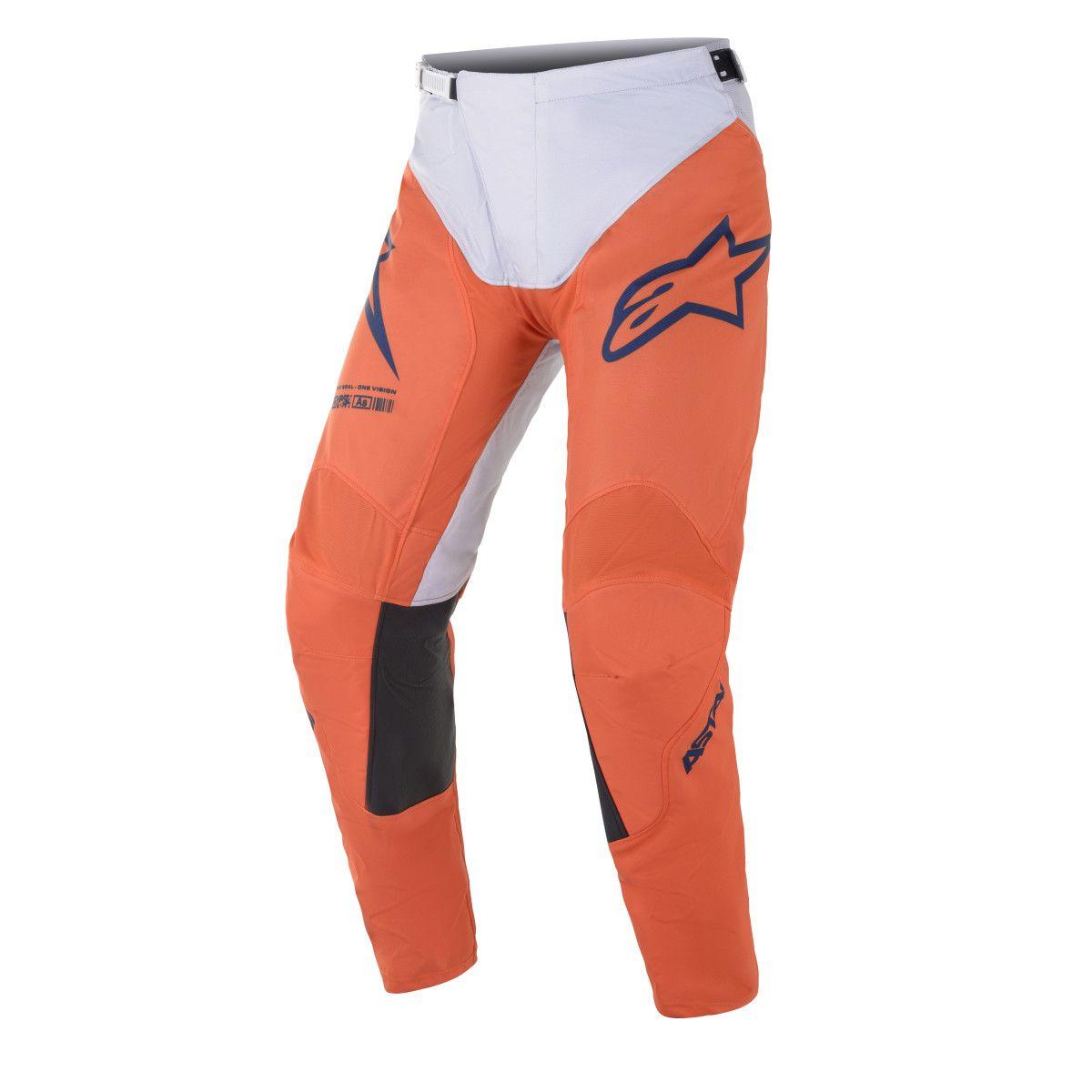 Alpinestars Crossbroek Racer Braap Orange/White