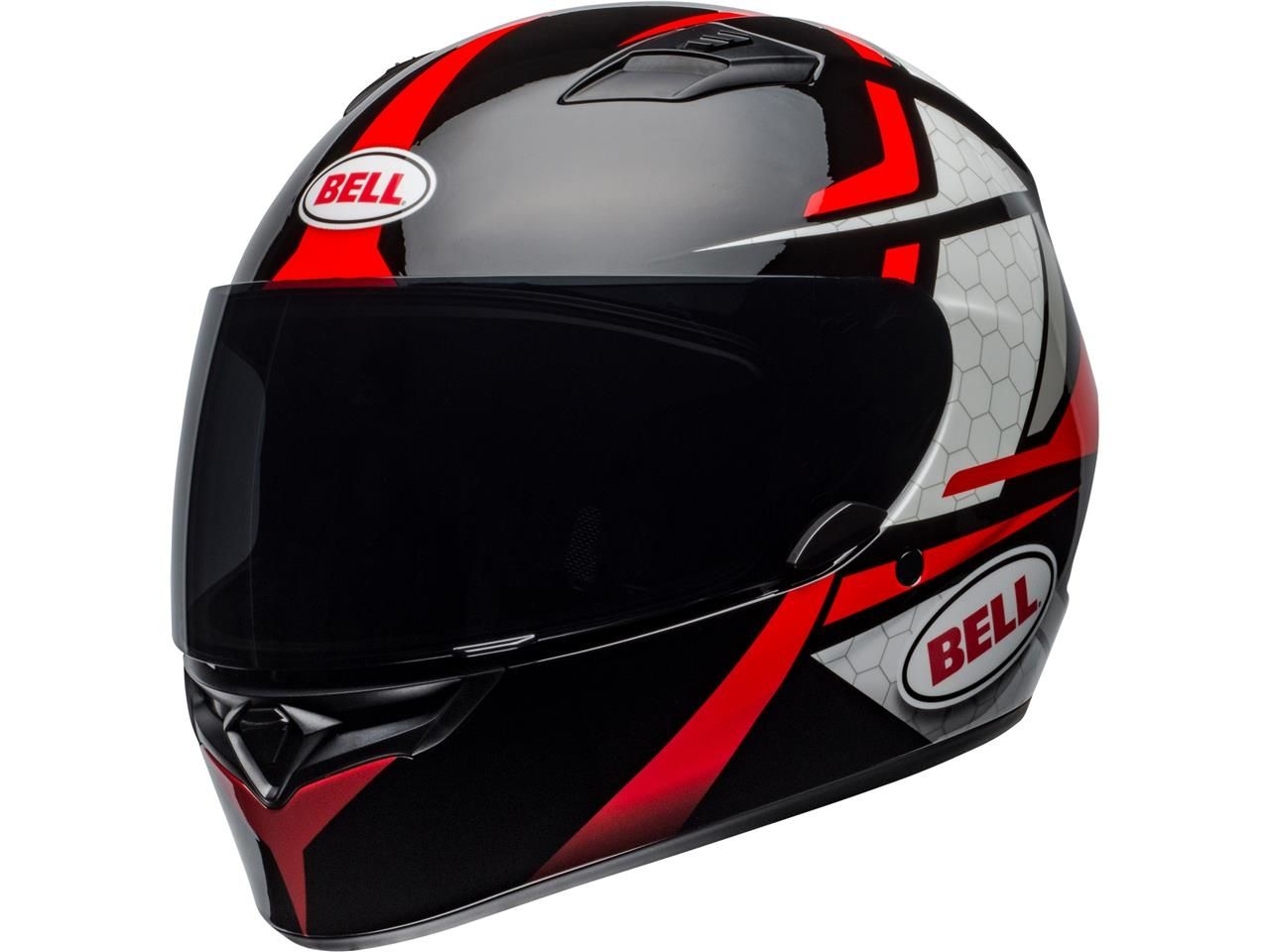 Bell Qualifier Integraalhelm Flare Gloss Black/Red