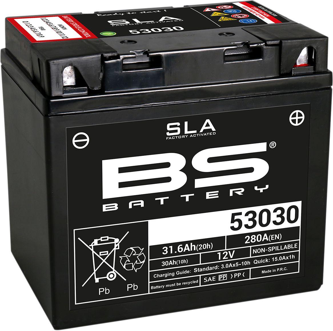 BATTERY BS 53030 SLA