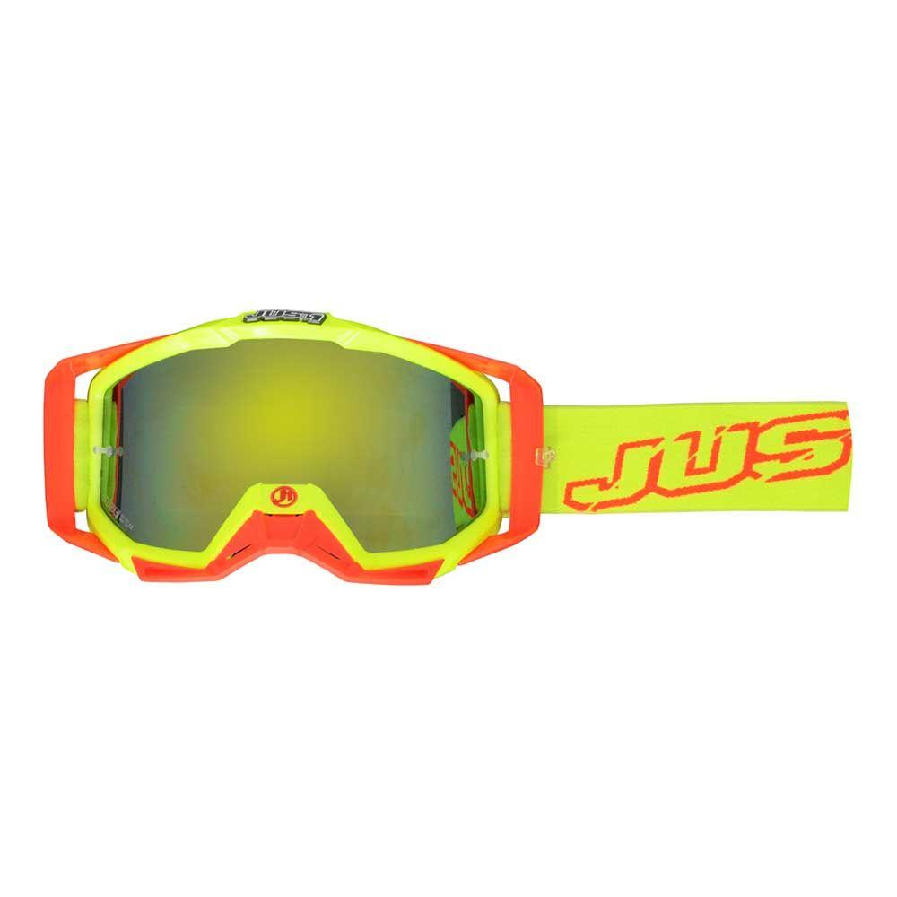 JUST1 Goggle Iris Neon Yellow