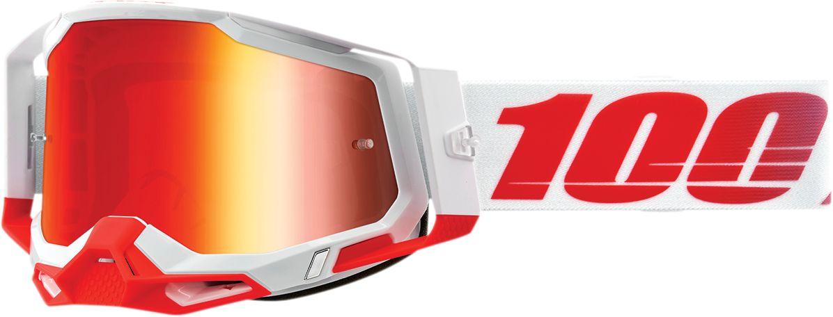 100% Crossbril Racecraft 2 St-Kith Mirror Red