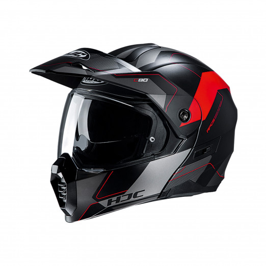 HJC Systeemhelm C80 Rox Red