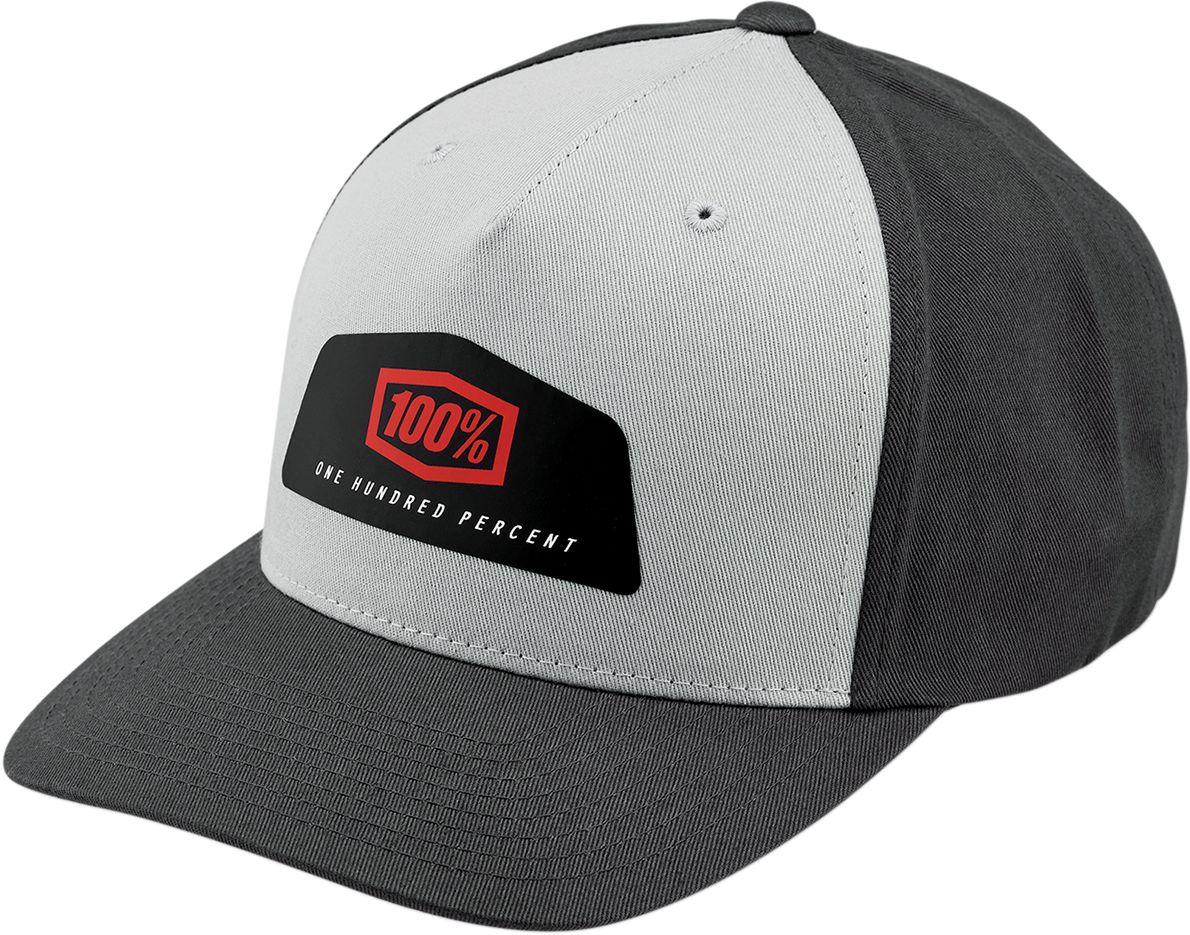 100% Pet Hats Guild Snapback Grey