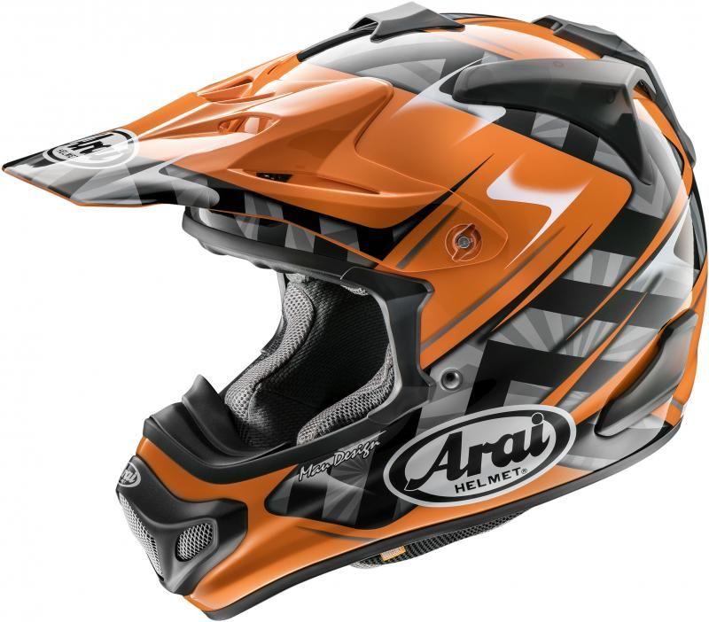 Arai Crosshelm MX-V Scoop Orange