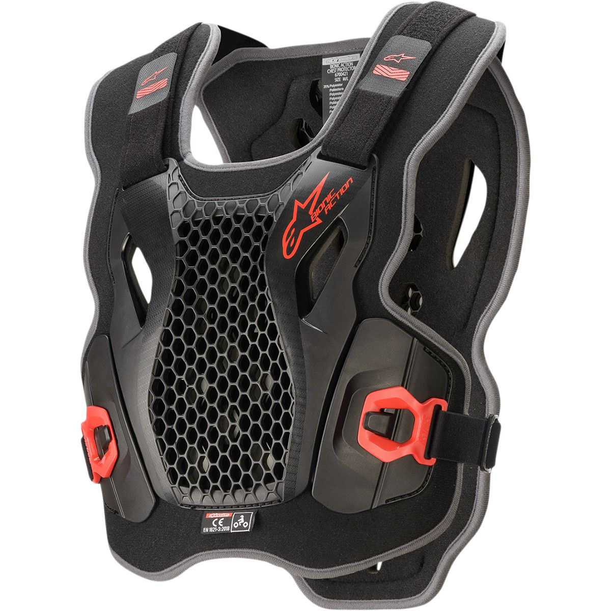 Alpinestars Bionic Action Roost Guard Black/Red