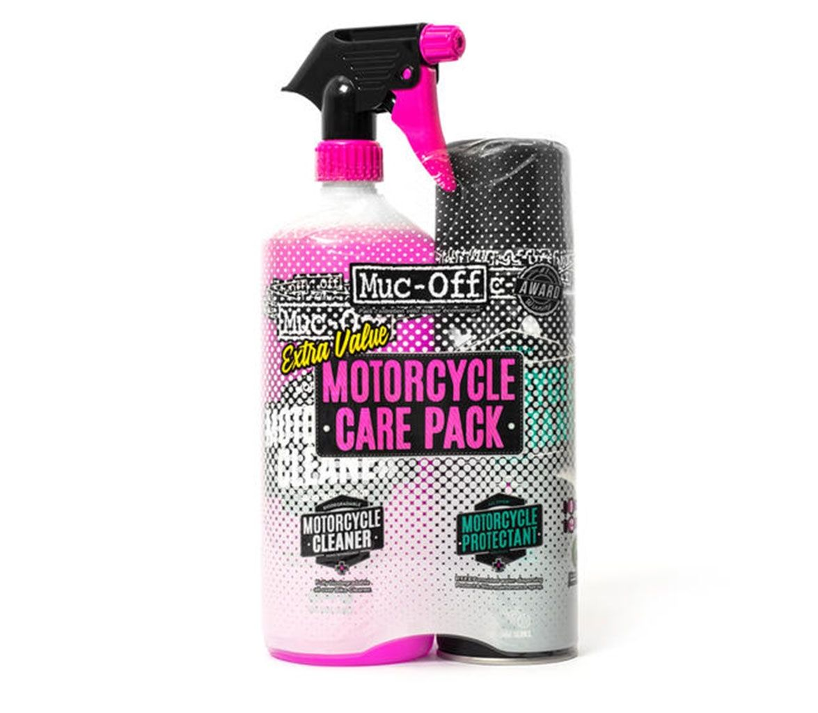 Muc-Off Motorcycle Care Pack (Duo Kit)