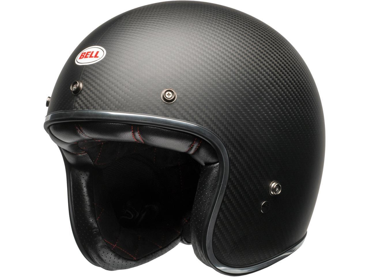 Bell Custom 500 Jethelm Carbon Solid Black