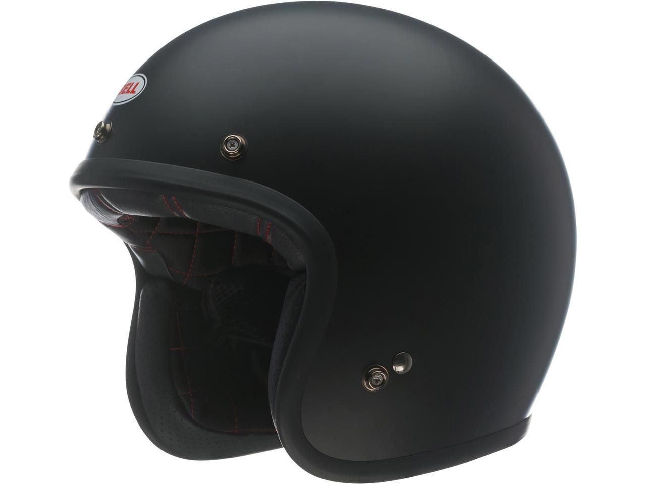 Bell Custom 500 DLX Jethelm Black Matte
