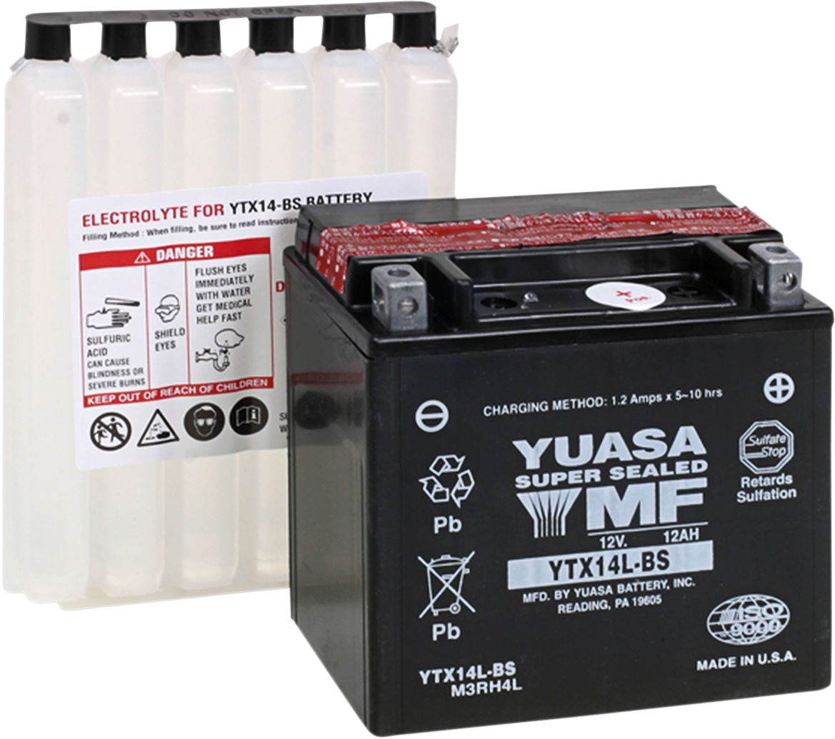 BATT YTX14L-BS .69 LITER