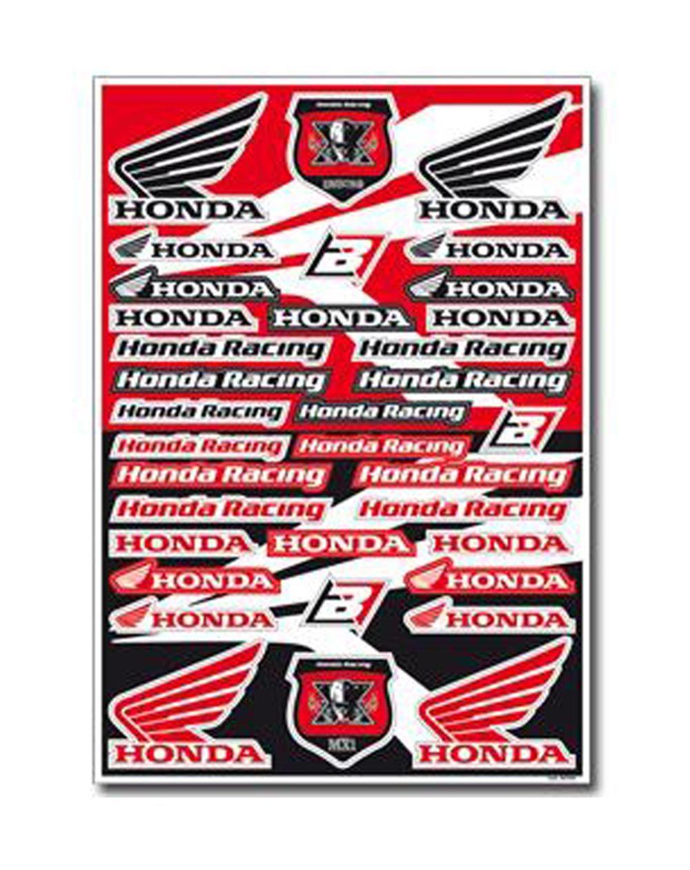 Blackbird Decal Logo Kits Honda