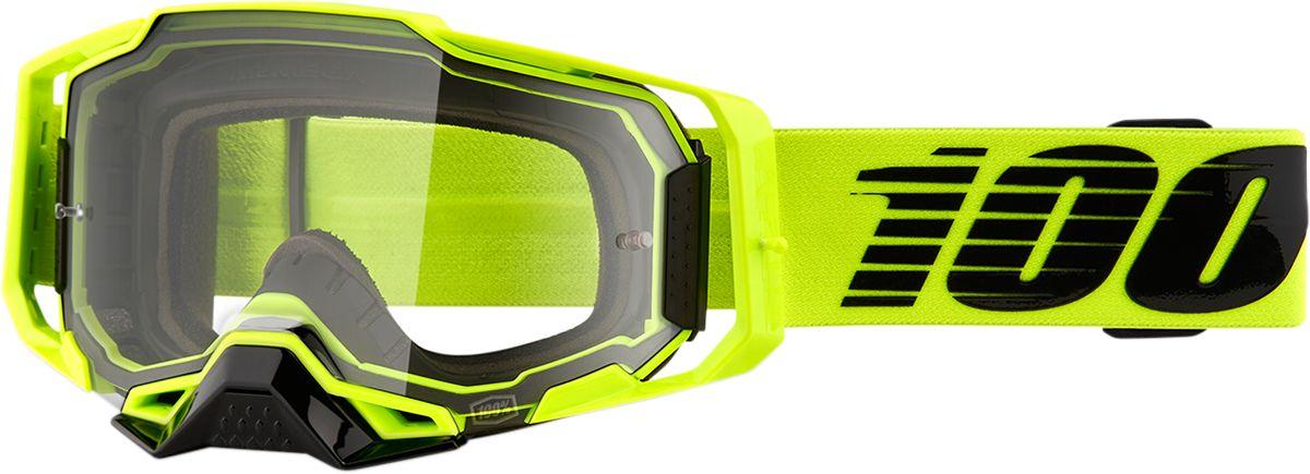 100% Armega Crossbril Nuclear Citrus-Clear lens