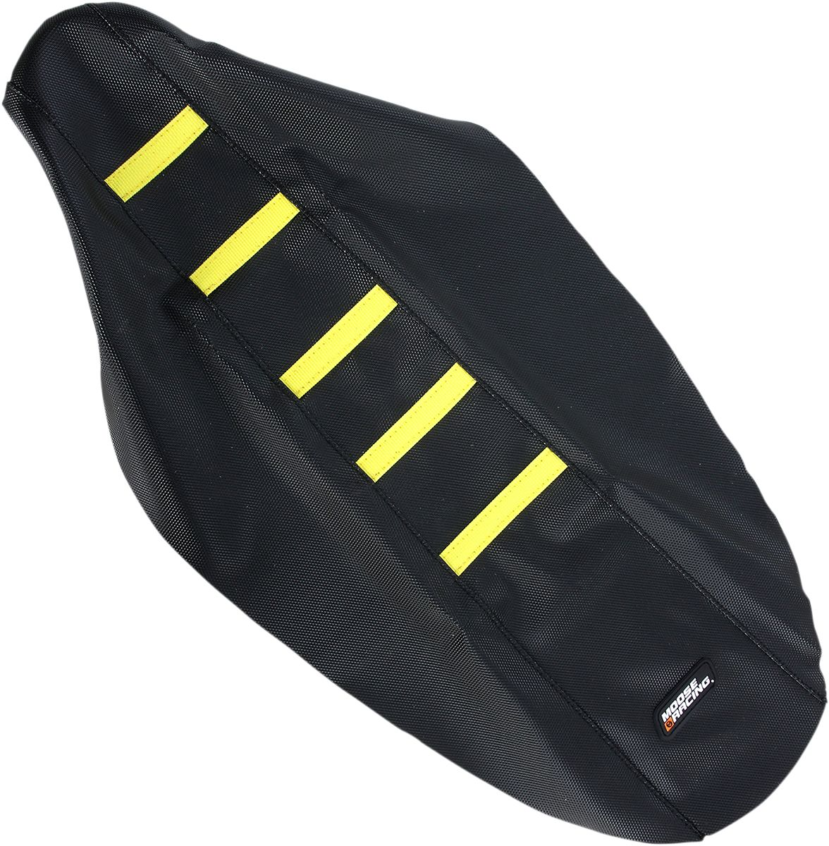 SEAT COVER RIBBED SUZ YEL