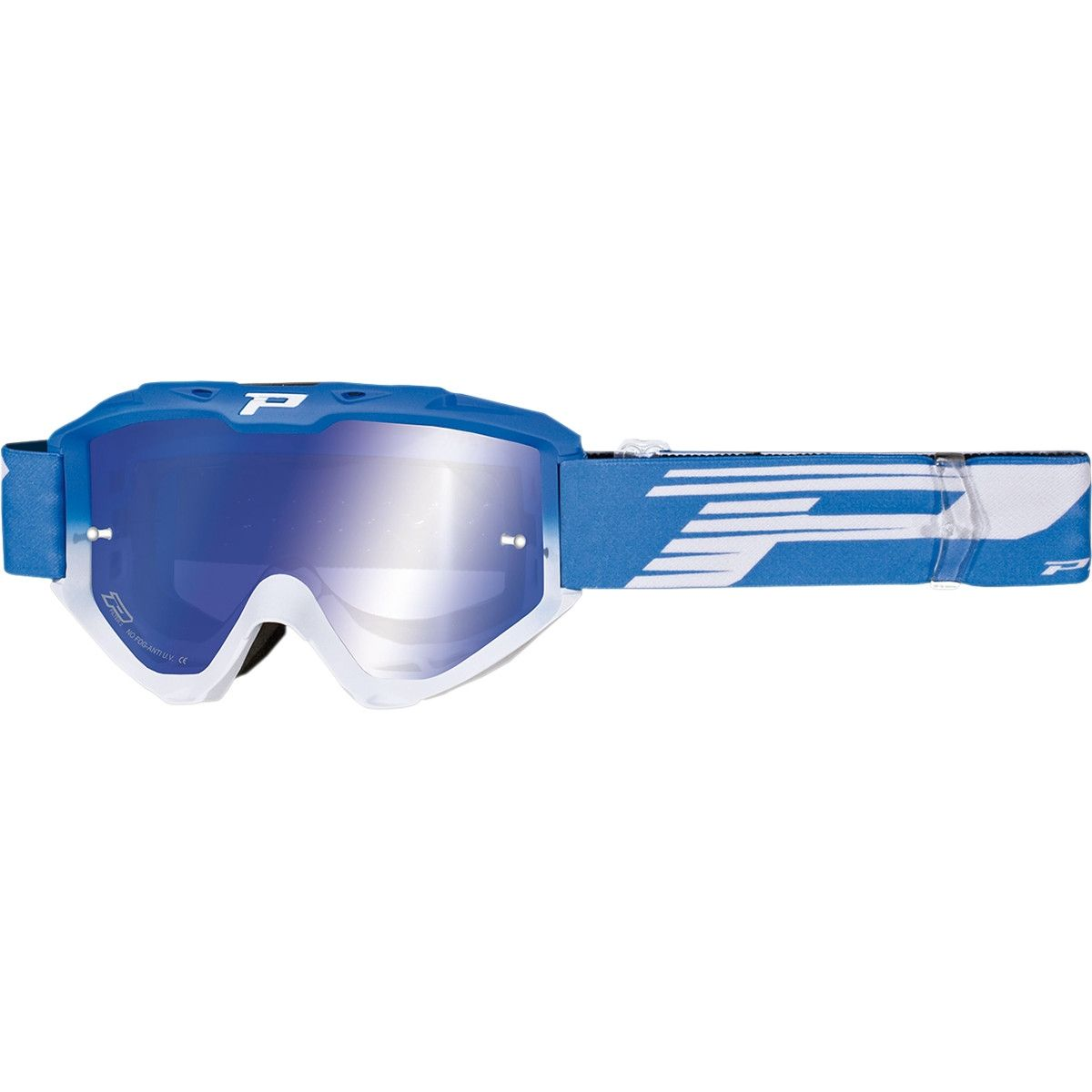 Progrip Crossbril 3450 Riot Mirror Blue/White