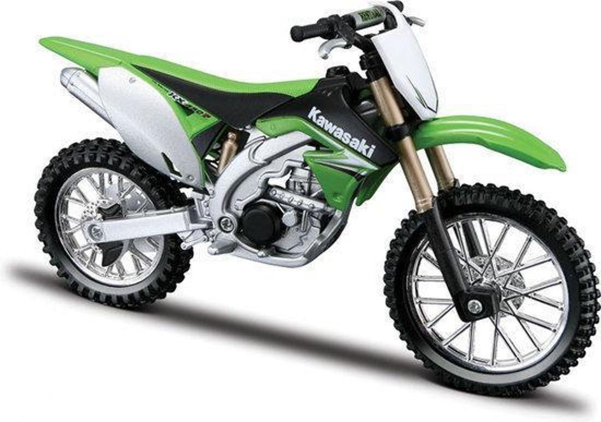 Miniatuur motor cross Yamaha 1:12