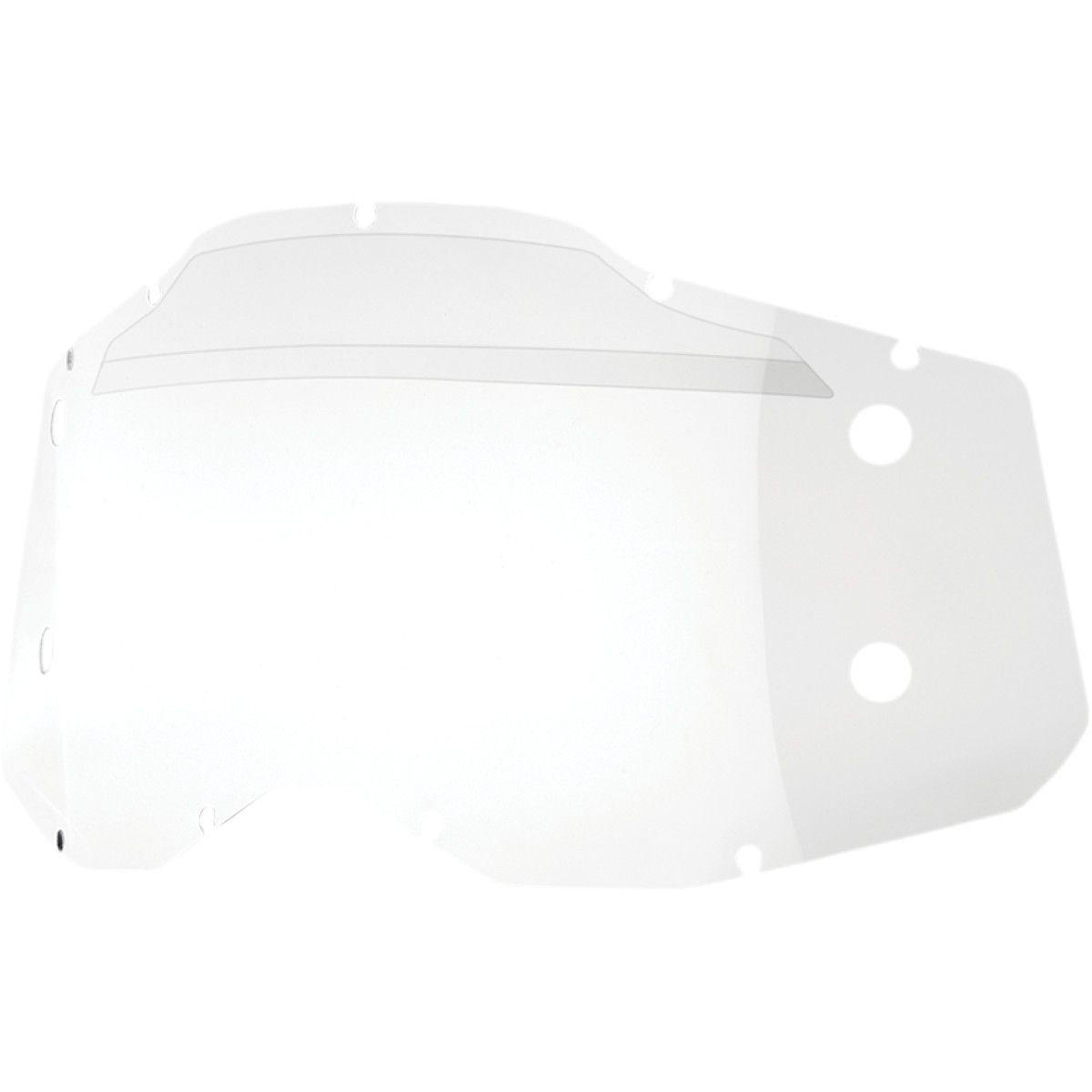 100% Forecast 2 roll-off lens zonder puntjes
