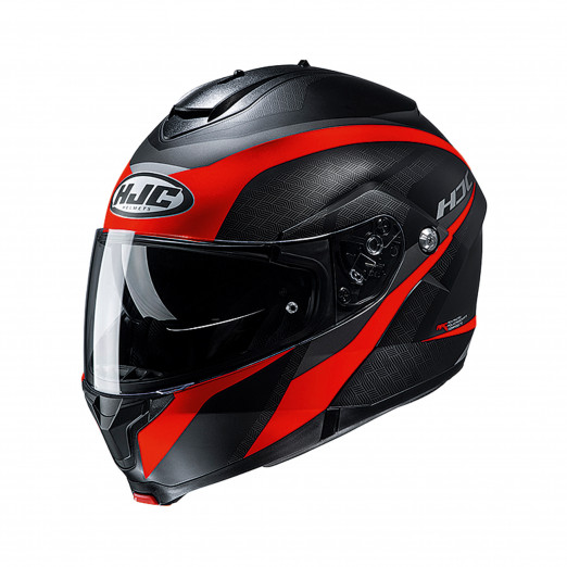 HJC Systeemhelm C91 Black/Red