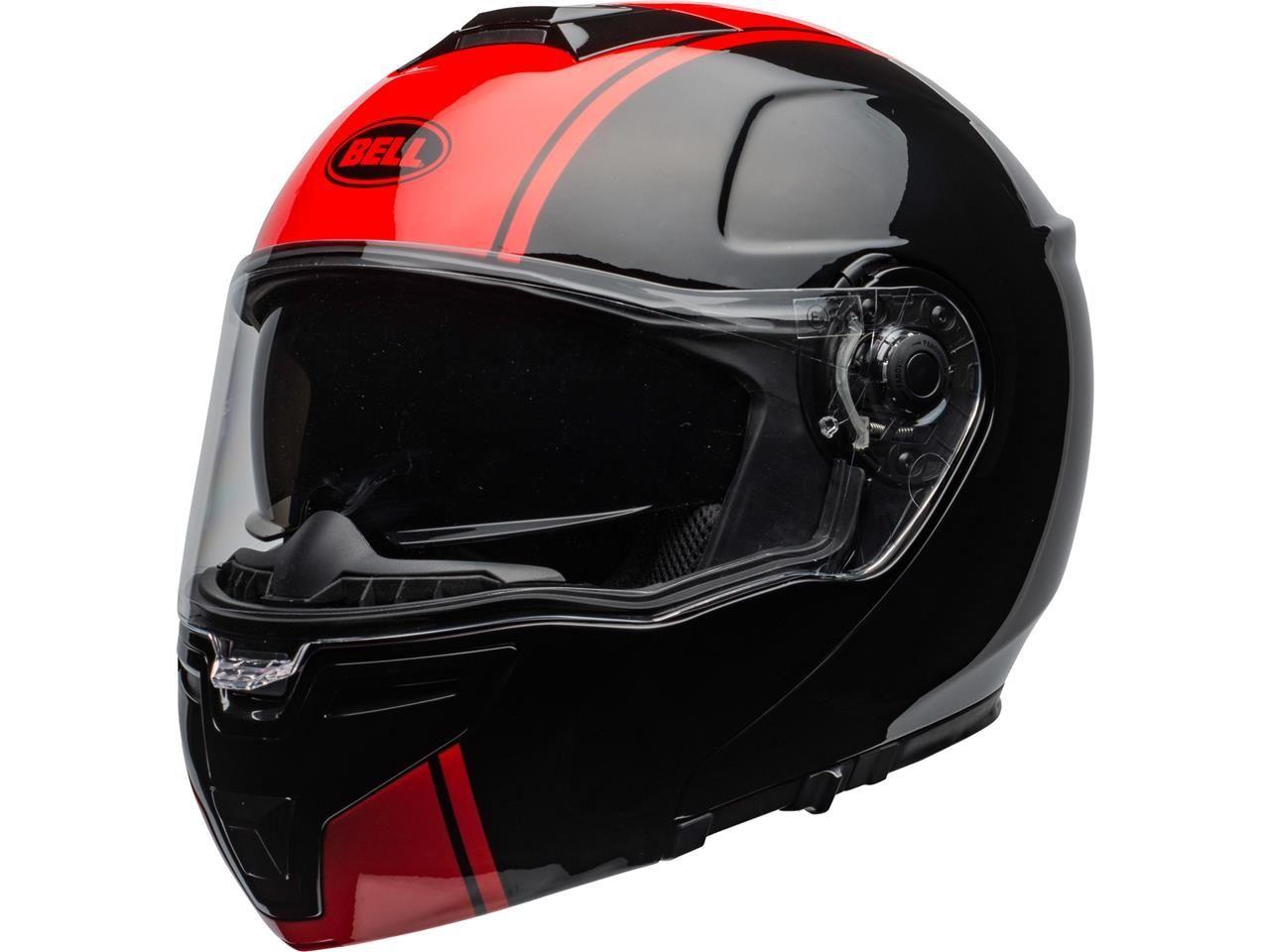 Bell SRT-Modular Systeemhelm Ribbon Gloss Black/Red