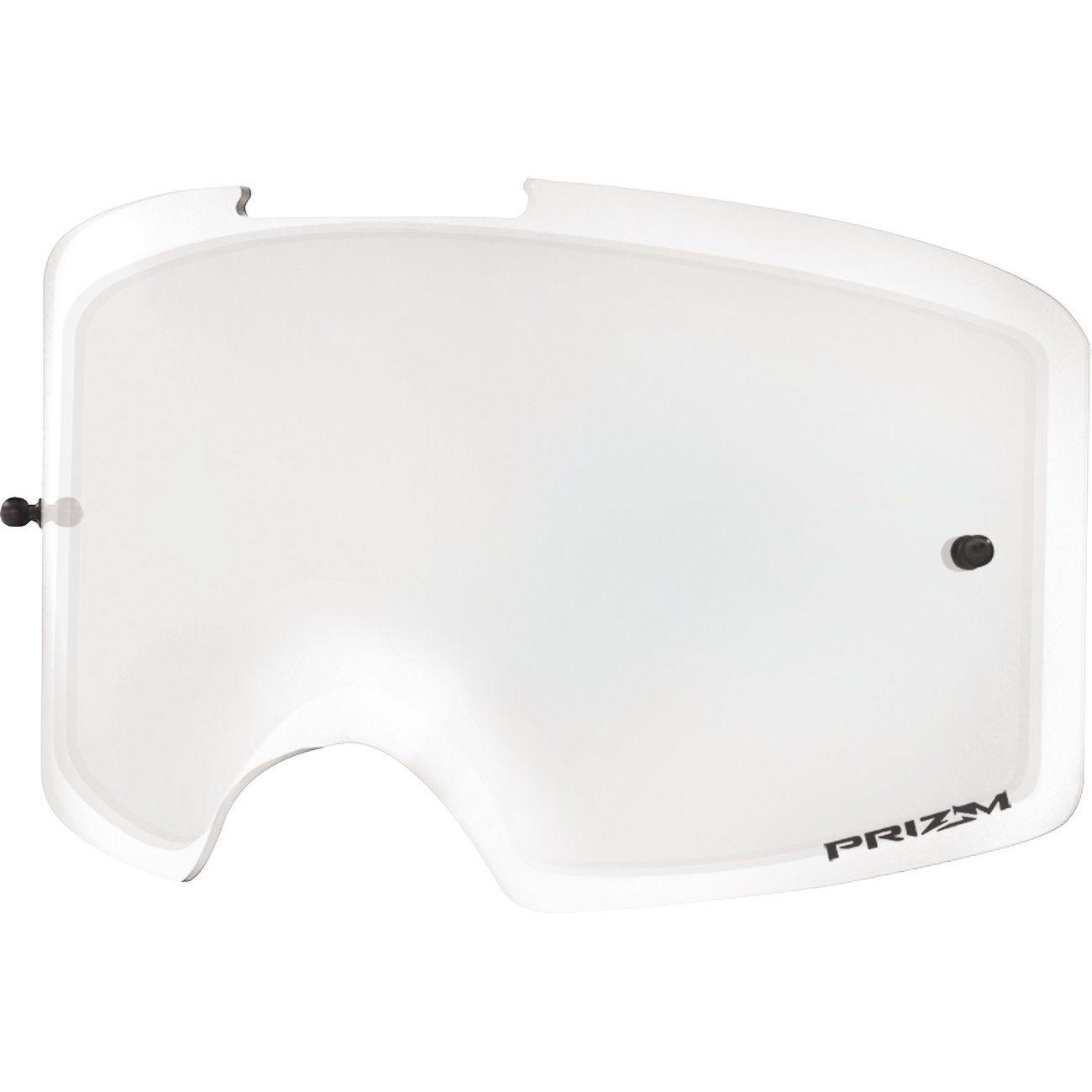 Oakley lens voor Oakley Front Line MX-Dubbele Heldere Lens