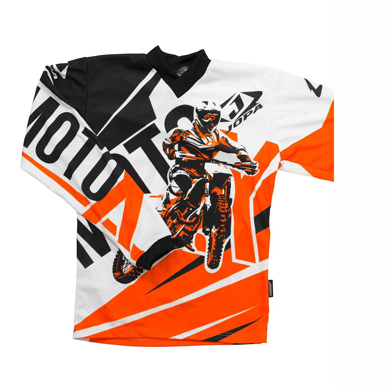 Jopa Kinder Shirt Moto-X Orange-98