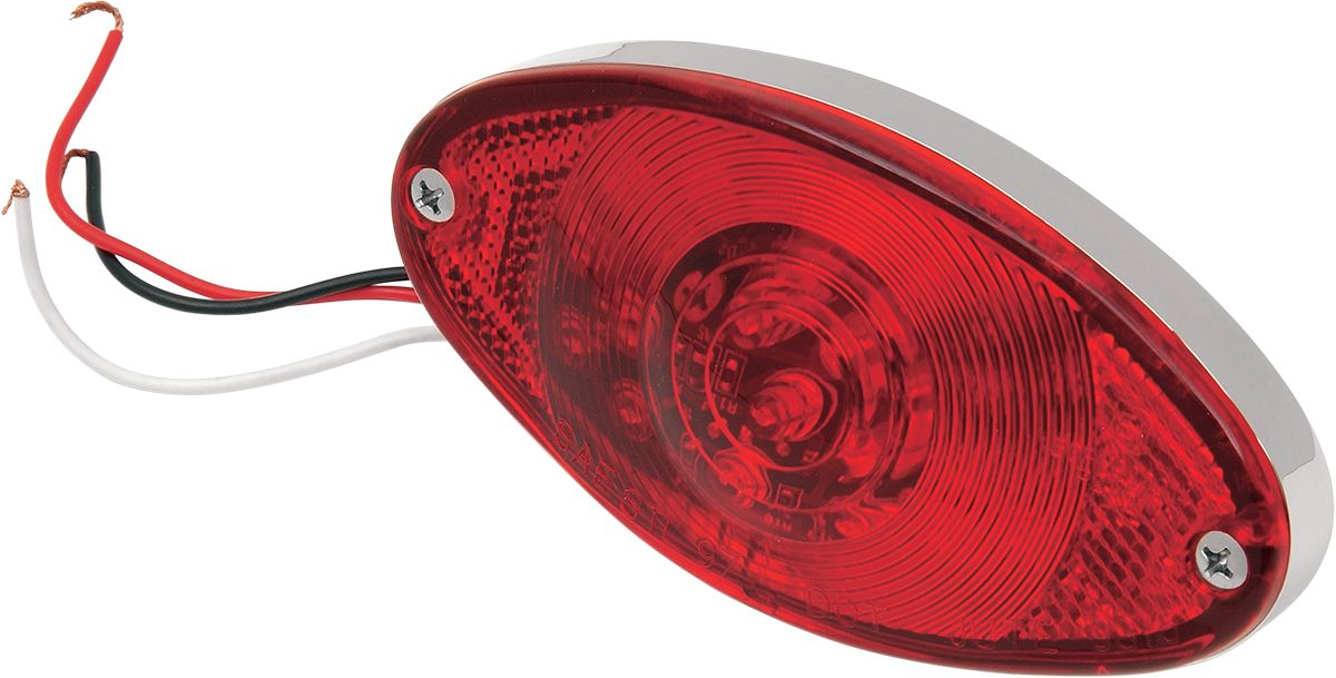 TAILLIGHT CATEYE LED RED