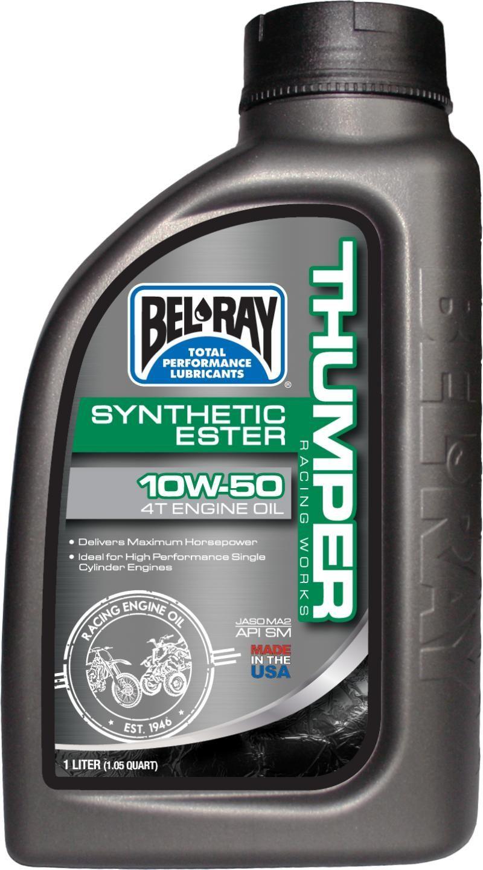 Bel-Ray Thumper Racing 4T Olie 10W-50 1 Liter