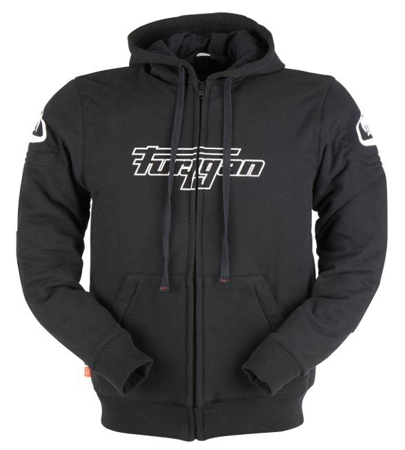 Furygan 6335-1 Hoodie Luxio Black 3XL