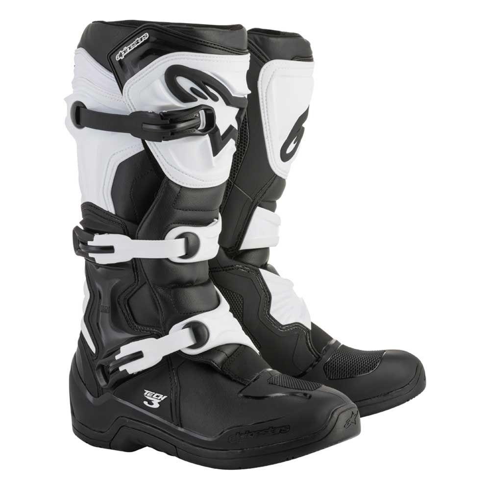 Alpinestars Crosslaarzen Tech 3 Black/White