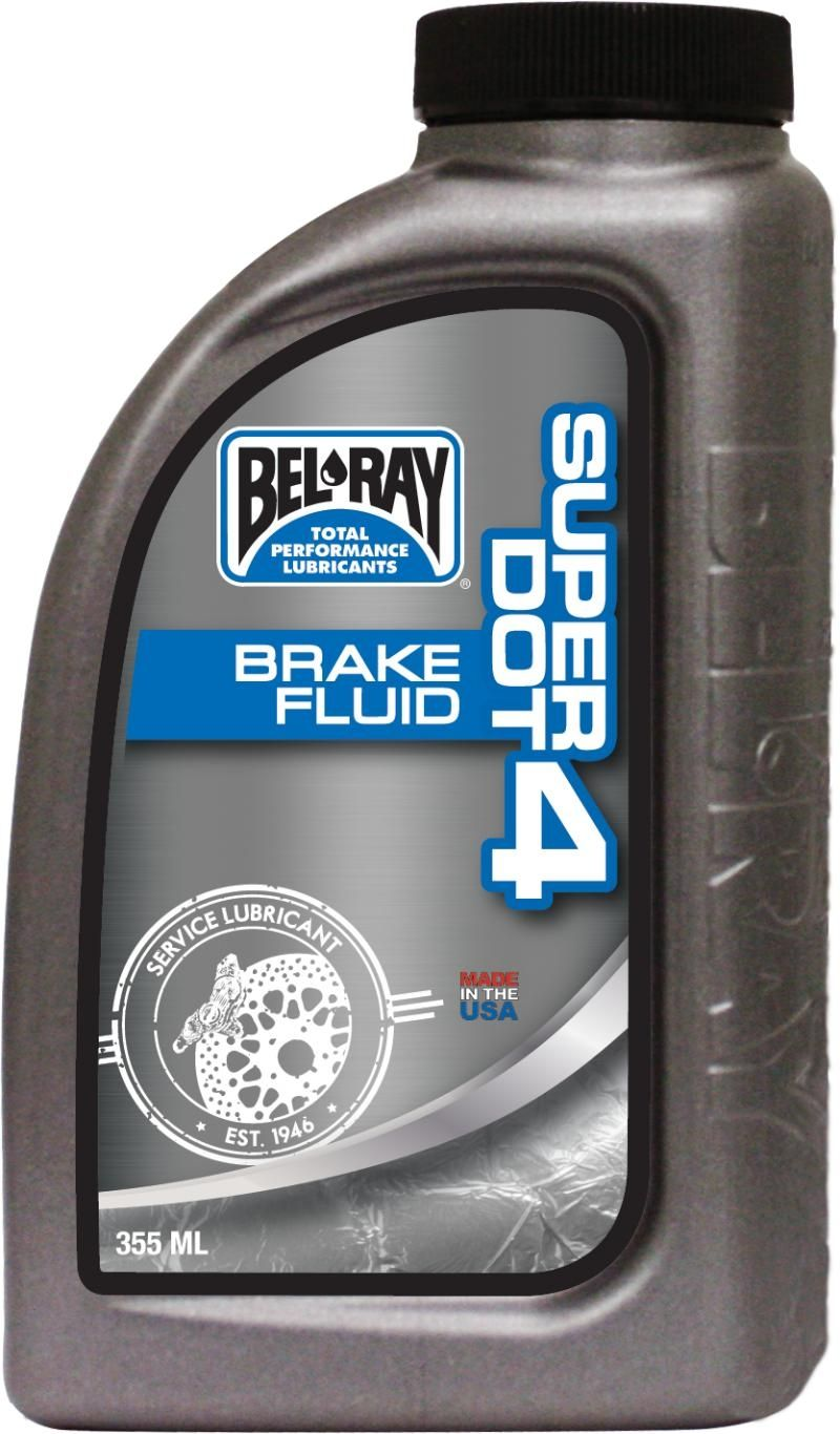 Bel-Ray Super Dot 4 Brake Fluid 355 ml
