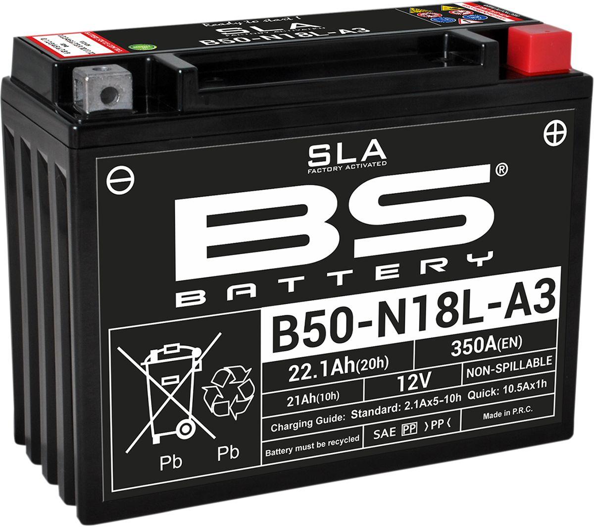 BATTERY BS B50N18L-A3 SLA