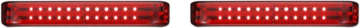 LIGHT SADDLEBAG CHR/RED
