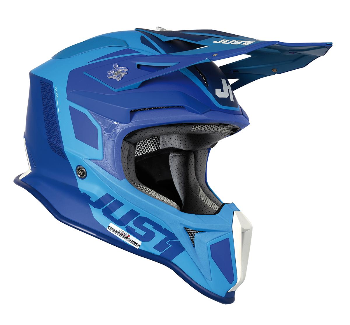 JUST1 Helmet J18 MIPS Pulsar Blue 60-L