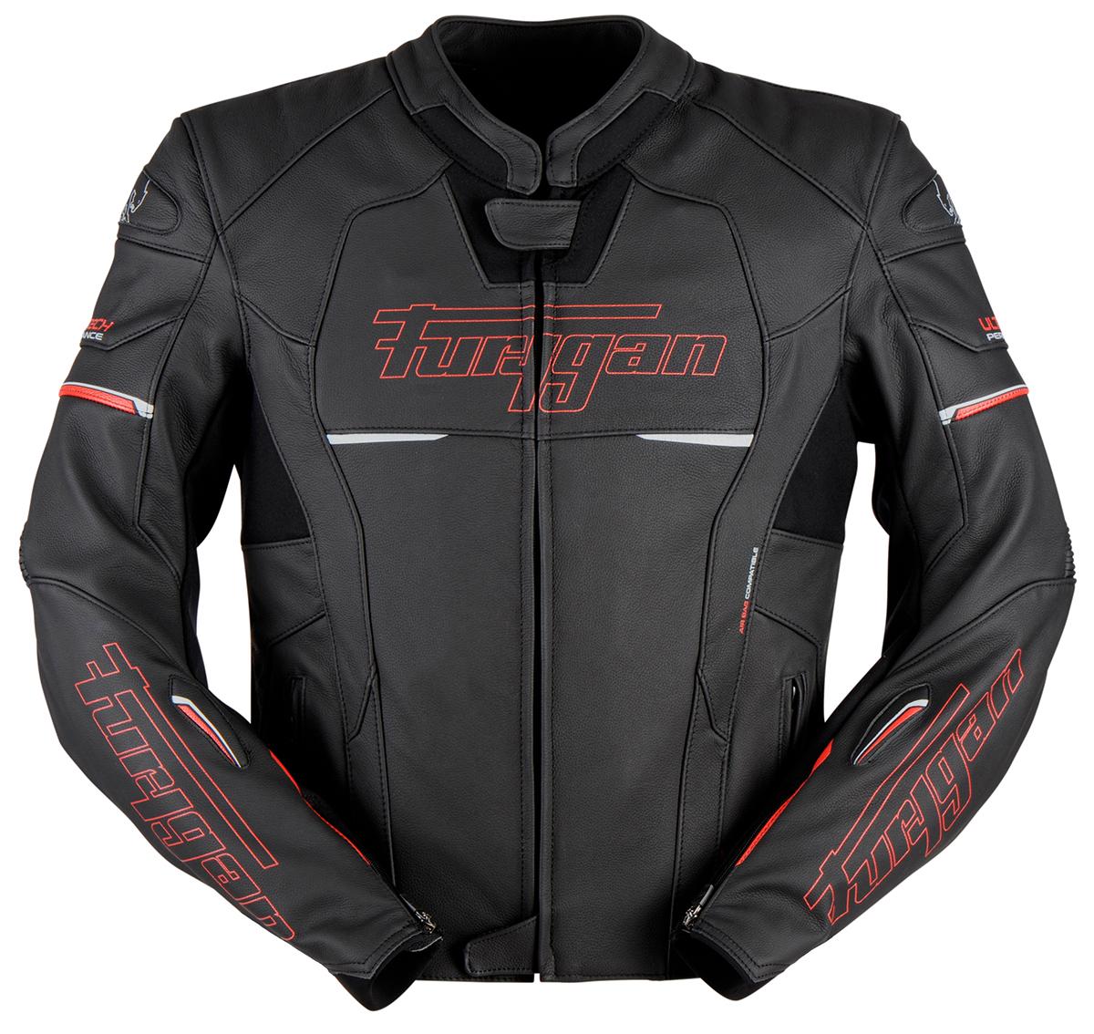Furygan 6021-108 Jack Nitros Black/Red 3XL
