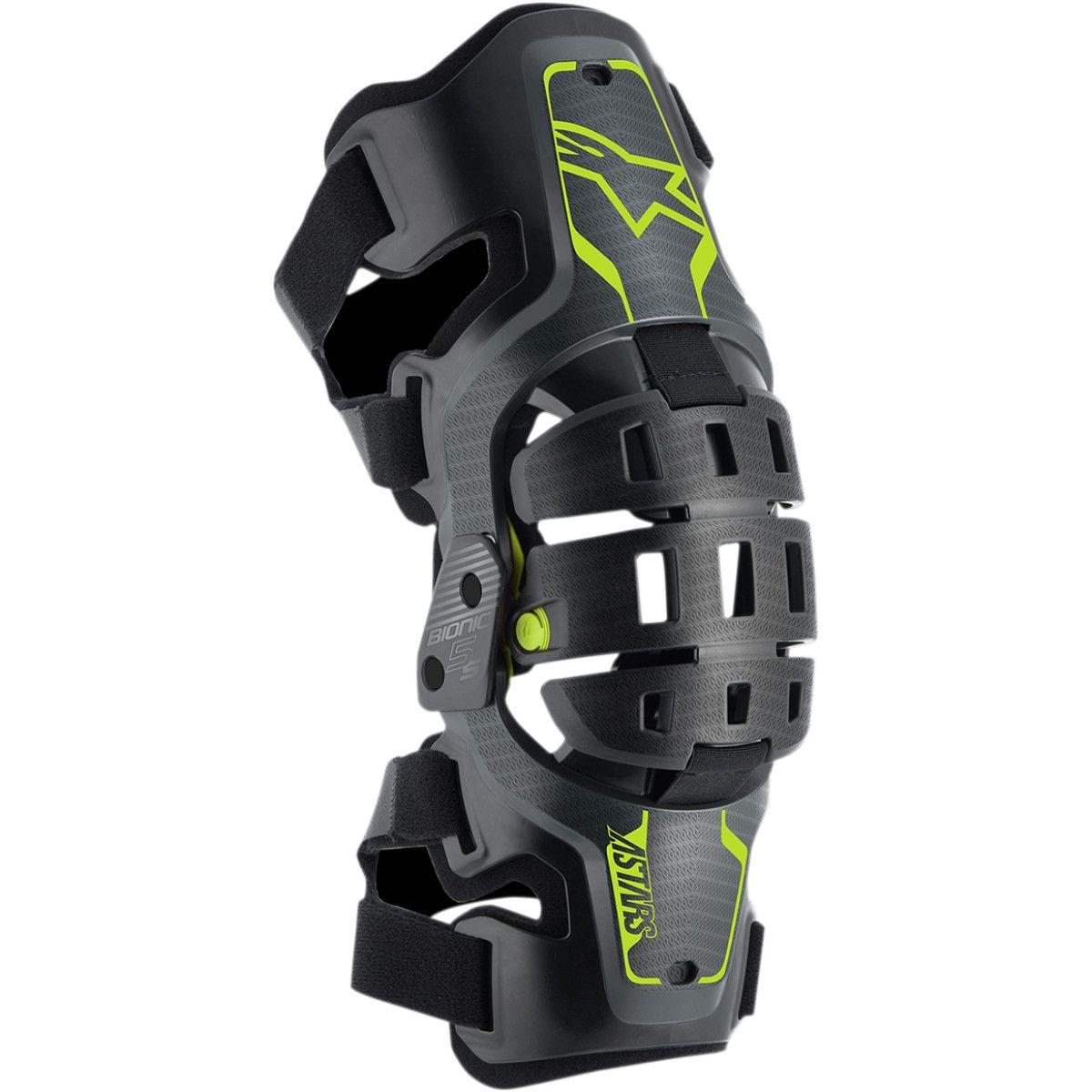 Alpinestars Bionic 5S Kinder Knee Brace Set (links en rechts)