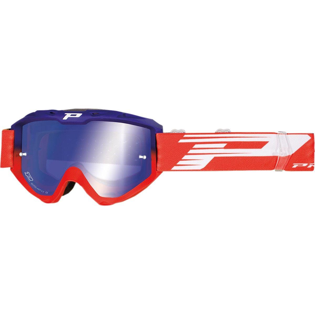 Progrip Crossbril 3450 Riot Mirror Blue/Red