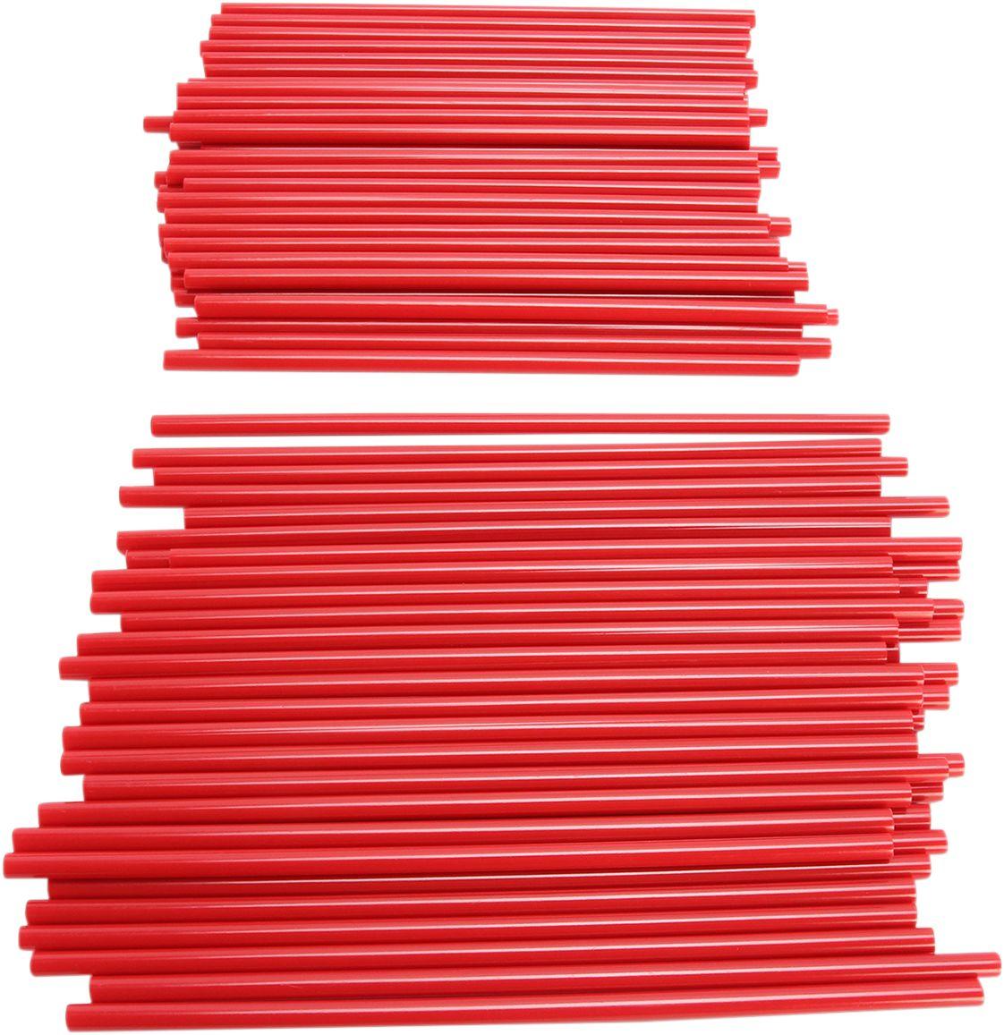 SPOKE COVERS RED 80PK