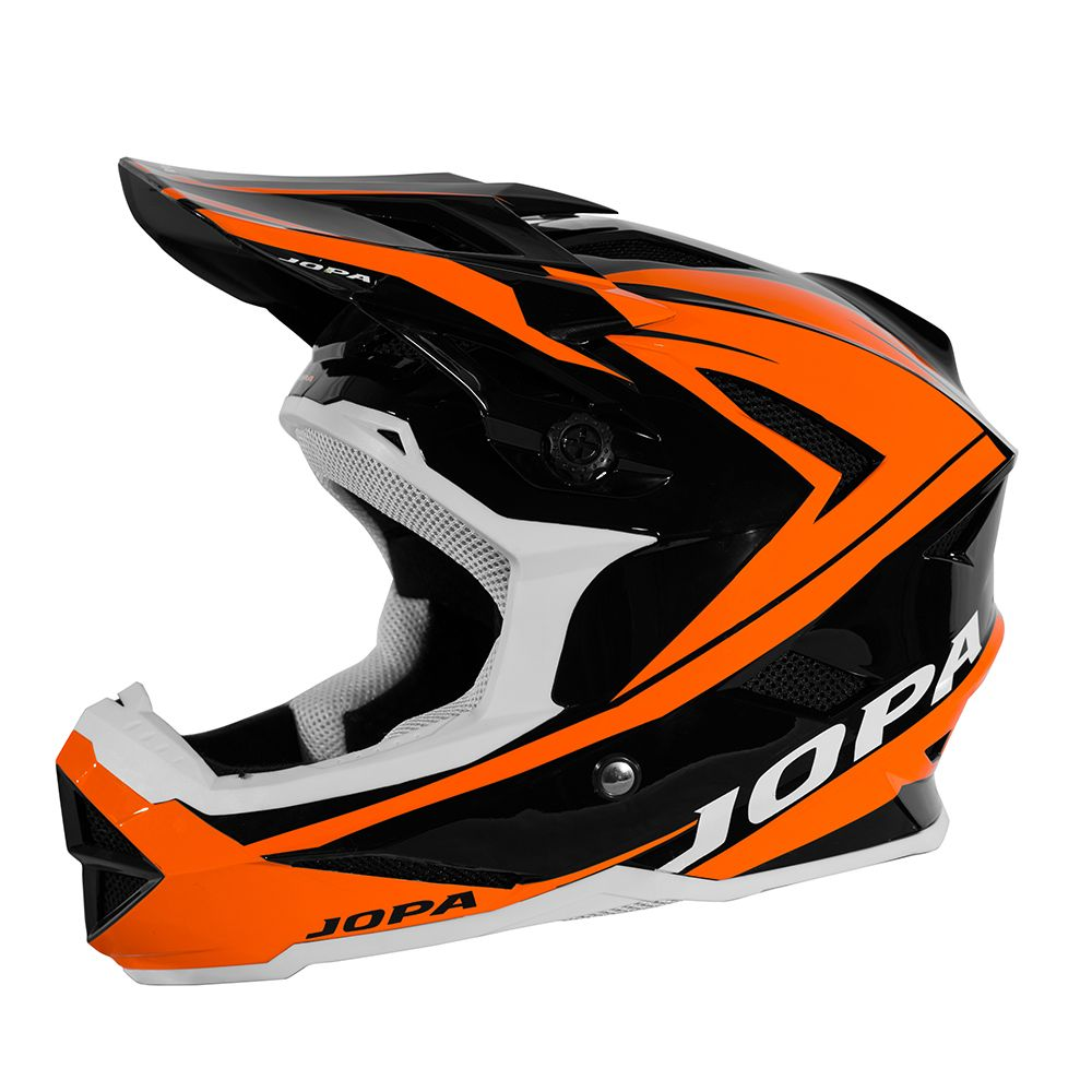 Jopa BMX Helm Flash Black/Fluor Orange