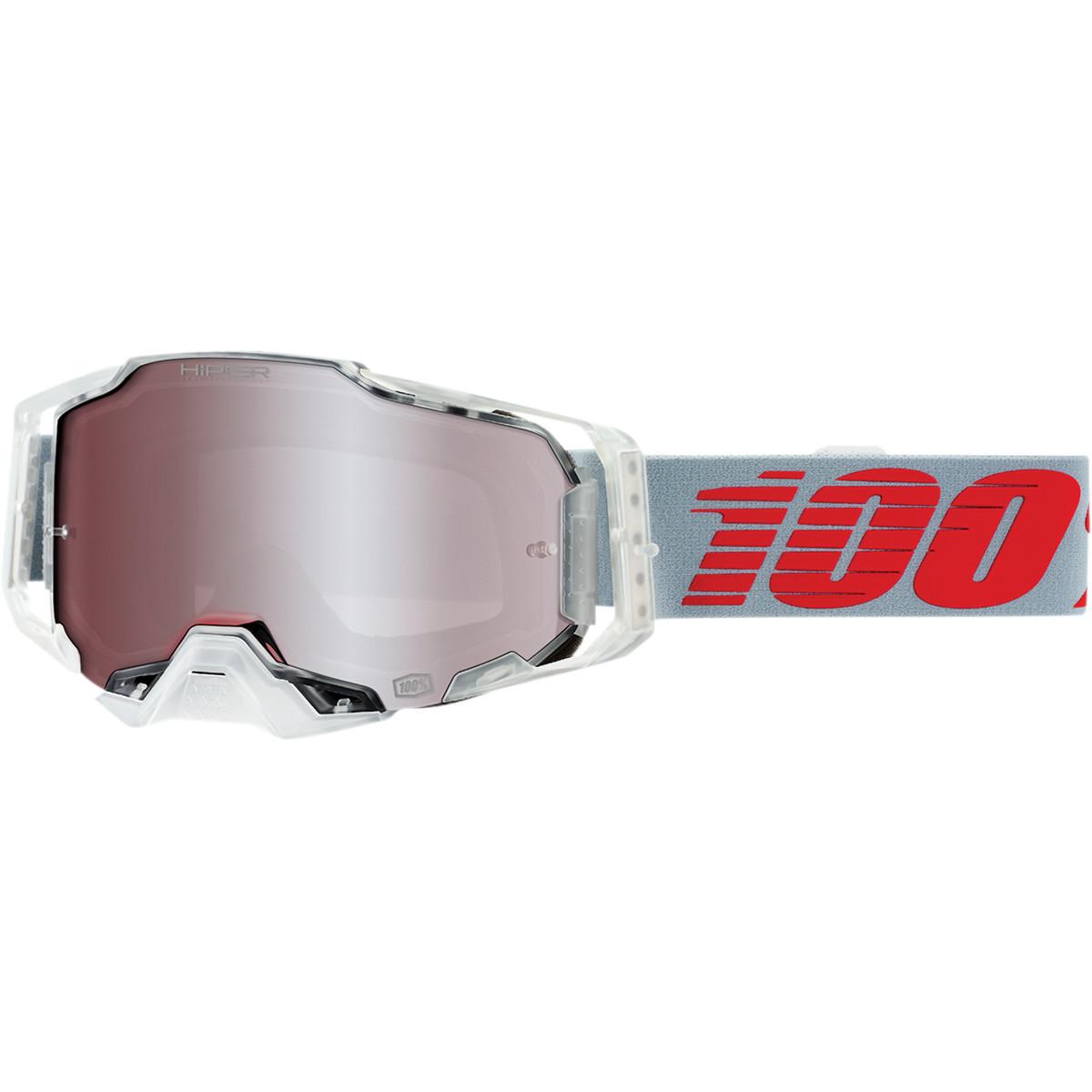 100% Armega Crossbril X-Ray Hiper Mirror Silver