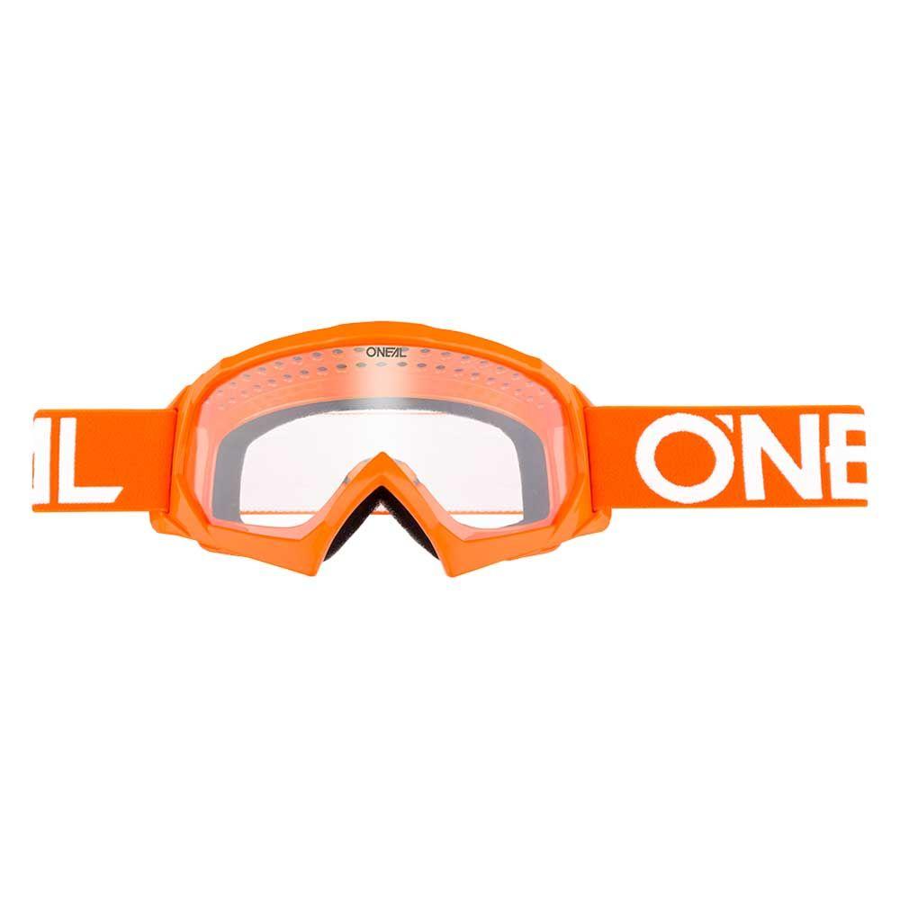O'Neal Kinder Crossbril B10 Solid Orange/White/Clear