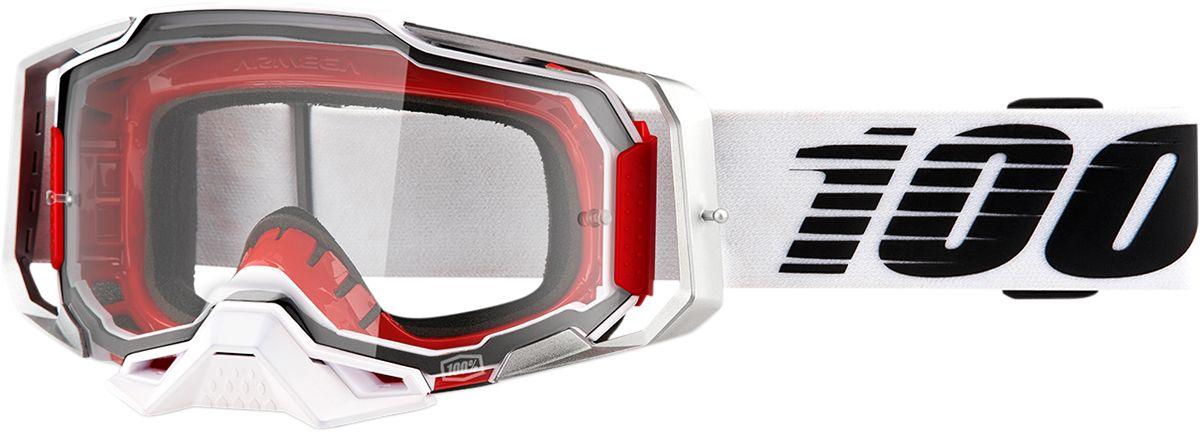 100% Armega Crossbril Lightsaber-Clear lens