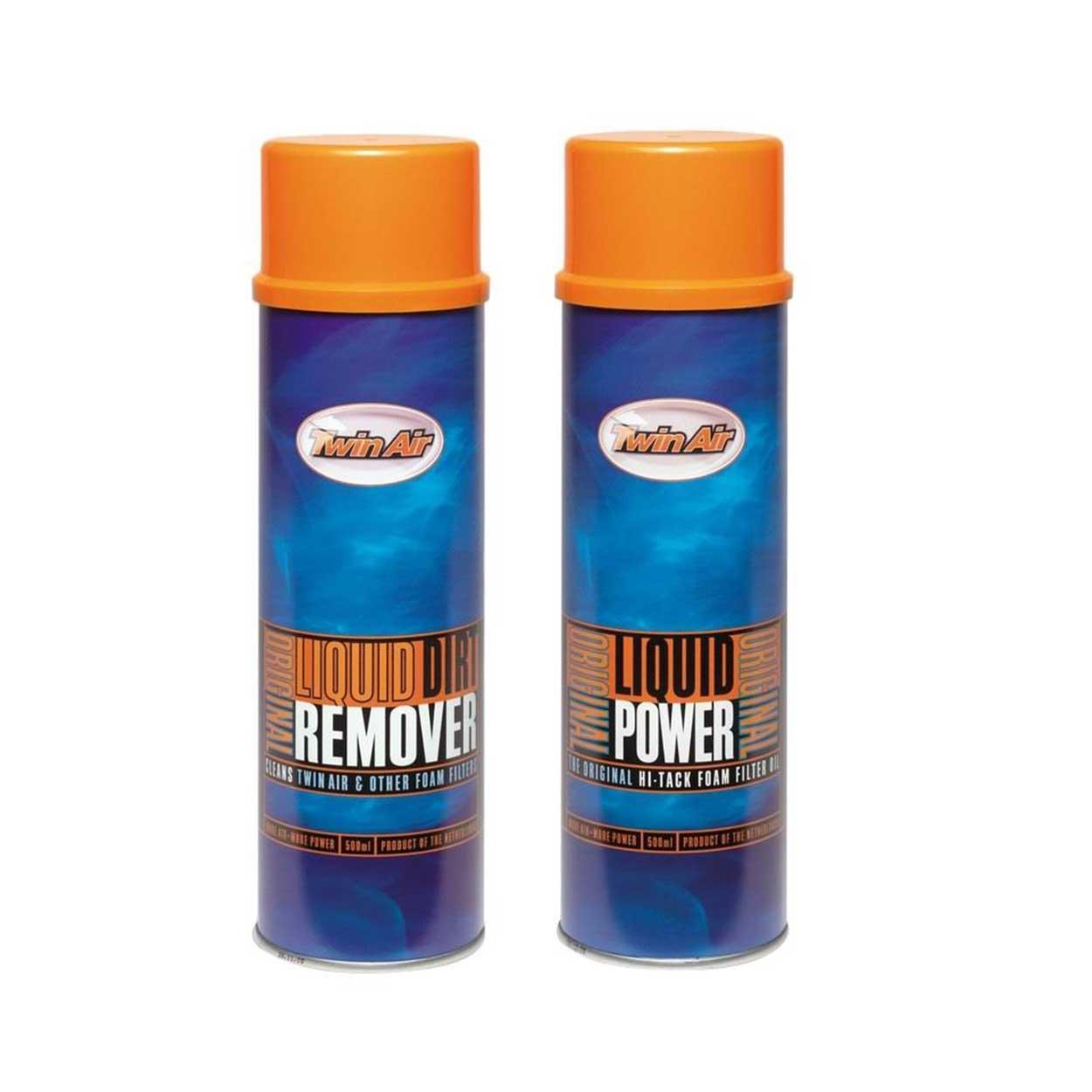 Twin Air Liquid Power spray (500ml) + Dirt Remover spray (500ml)