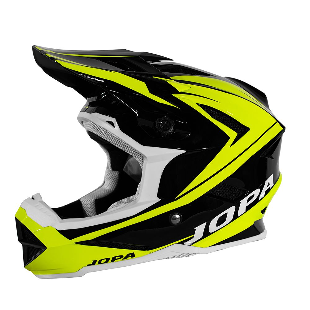 Jopa BMX Helm Flash Black/Fluor Yellow