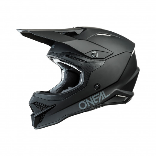 O'Neal Crosshelm 3 Series Solid Black