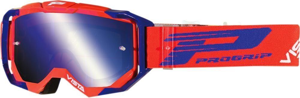 Progrip Crossbril 3303 FL Red/Blue