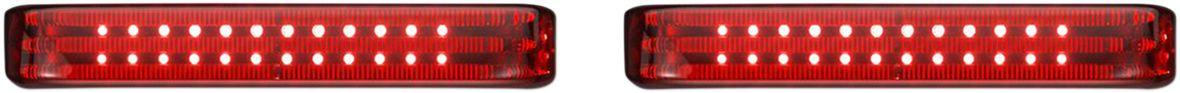 LIGHT SADDLEBAG BLK/RED
