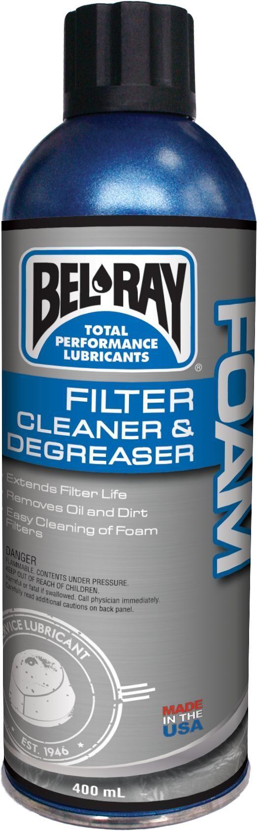 Bel-Ray Foam Filter Cleaner Luchtfilter Reiniger 400 ml