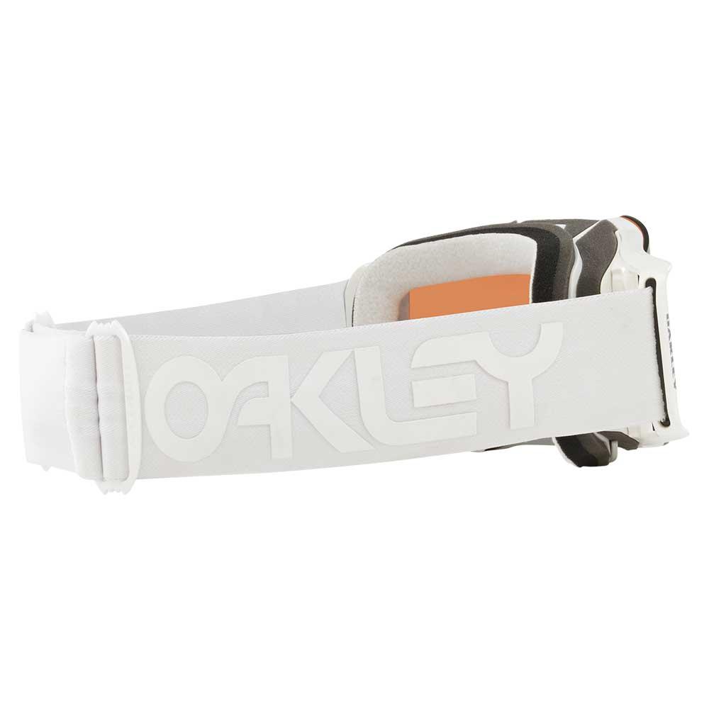 Oakley Crossbril Front Line MX Factory Pilot Whiteout/PRIZM™ Sapphire Iridium